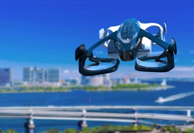 SkyDrive має намір запустити сервіс електричних аеротаксі в Токіо та Осаці в 2023 році (ВІДЕО)