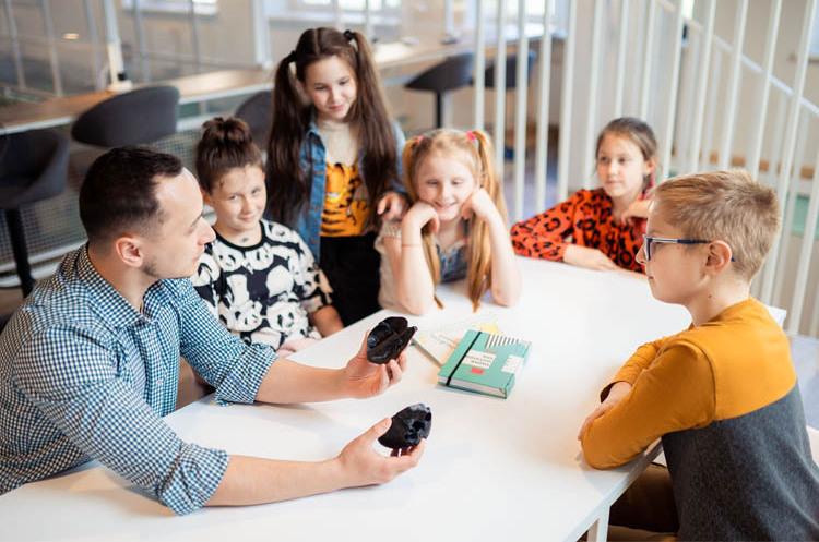 Открытие школы на Осокорках. КМДШ – место, где вырастают личности