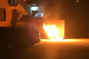 Нардеп Гео Лерос заявив про підпал його авто