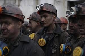28 шахтарів четверту добу поспіль відмовляються піднятися на поверхню із шахти на Львівщині через борги із зарплати