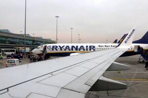 Ryanair тимчасово зупинить польоти з України по 23 маршрутам