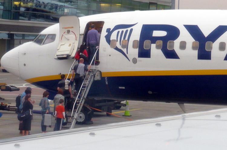 Ryanair у понад тричі збільшить число рейсів Київ-Берлін