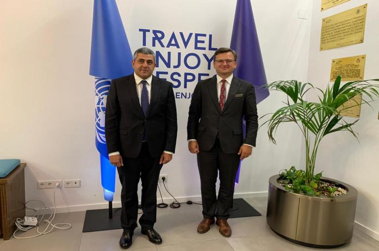 Кулеба запропонував туристичній організації ООН провести в Україні міжнародний форум