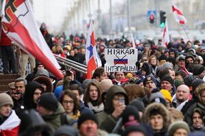 Понад 45% українців підтримують протестувальників у Білорусі