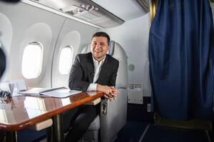 Авіаперельоти Зеленського з початку 2020 року коштували для держави 14 млн