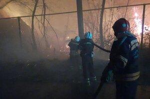 Обстріл окупантів спровокував пожежу на Луганщині – РДА