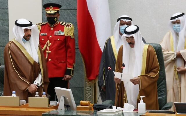 Новий емір Кувейту приніс присягу