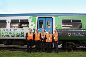 У Британії тривають випробування першого водневого поїзда