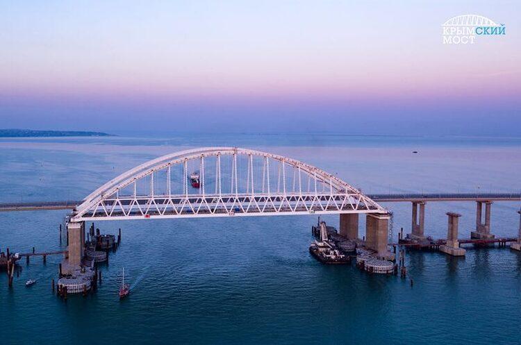 ЄС ввів санкції проти відповідальних за будівництво Кримського мосту