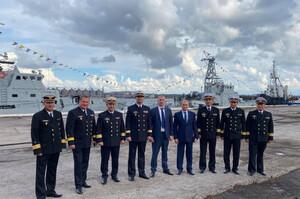 У порту Южний відкрили пункт базування патрульних катерів ВМС України