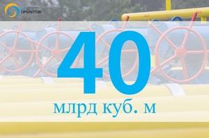 Транзит «Газпрому» через Україну в 2020 році сягнув 40 млрд і наразі відбувається за максимумом - ОГТСУ