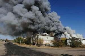У Луганській області стався новий підпал між селами Нижньотепле й Артема