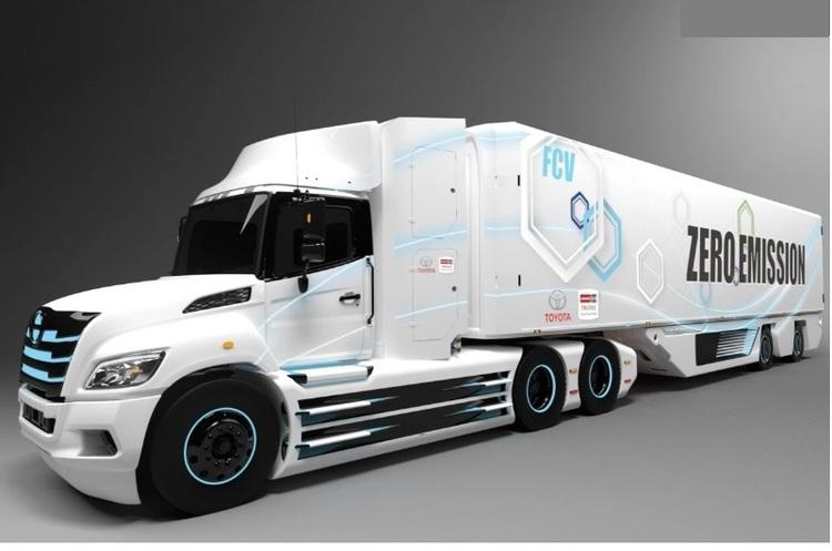 Toyota і Hino розроблять водневу вантажівку для Північної Америки