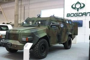 Підприємство «Укроборонпрому» закупило бронемобілі у «Богдан Моторс» Гладковського