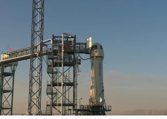 Blue Origin запустила ракету New Shepard для випробування місячної посадкової системи