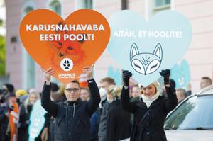 Законопроект про заборону хутрових ферм пройшов перше читання в парламенті Естонії