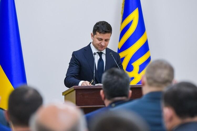 Зеленський підписав закон «Про розвідку»