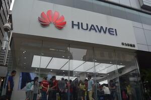 Зростання Huawei дещо сповільнилося