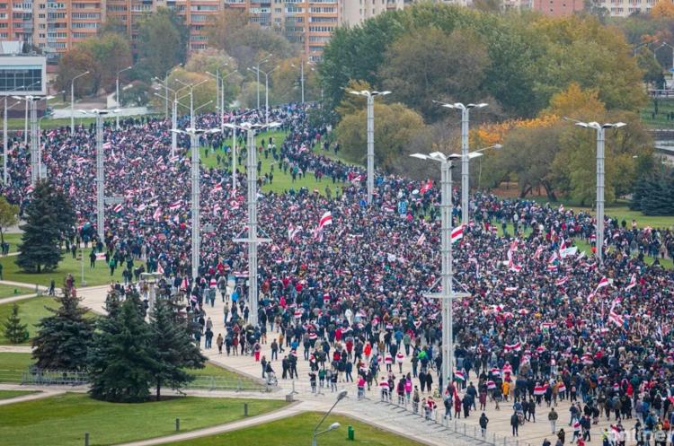 У Білорусі люди вийшли на останній перед початком ультиматуму марш