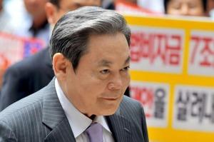 Акції Samsung виросли після смерті глави ради правління компанії