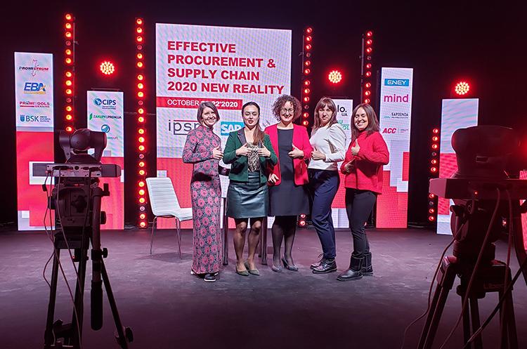 В Киеве состоялось масштабное онлайн-мероприятие для закупщиков «Эффективные закупки и поставки 2020. Новая реальность»