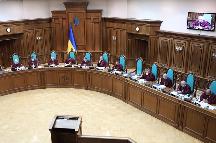 Голова КСУ вбачає «ознаки конституційного перевороту» в законопроєкті Зеленського
