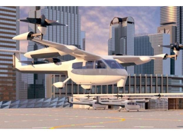 У двох містах Іспанії планують запустити літаючі таксі в 2022 році