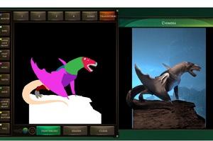 Нова розробка від Google з АІ перетворює малюнки в Paint в химерних монстрів