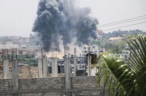Ізраїль завдав удару по військових об'єктах в аеропорту Дамаска