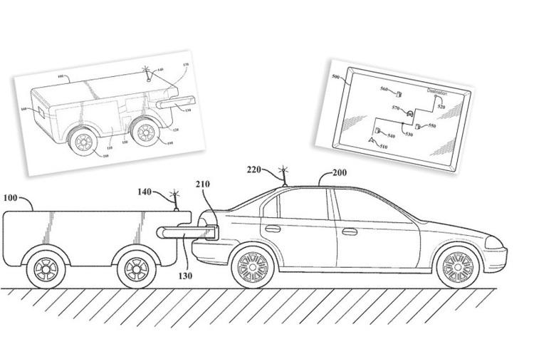Toyota запатентувала дрон для заправки автомобілів просто в дорозі