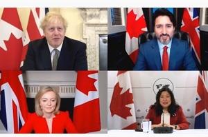 Великобританія і Канада підписали угоду про вільну торгівлю