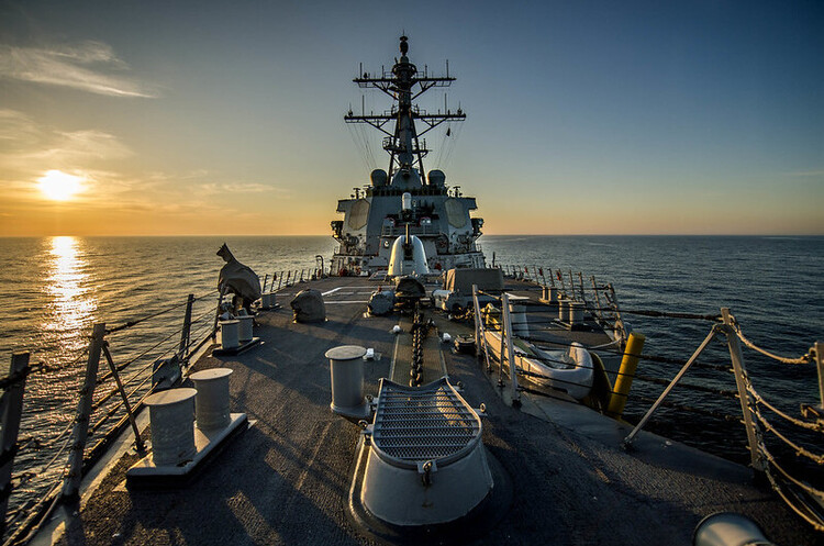 Американський есмінець USS Donald Cook направляється в Чорне море
