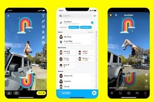 Snapchat запустила сервіс, схожий на TikTok, і платитиме авторам за контент