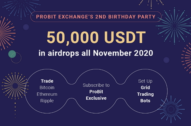 """ProBit Exchange Announces 4 """"ProBit Exclusive"""" Premium Listing Feature to celebrate their 2<sup>nd</sup> Anniversary"""