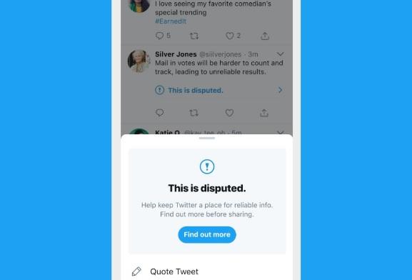 Twitter буде попереджати користувачів, які хочуть лайкнути недостовірну інформацію