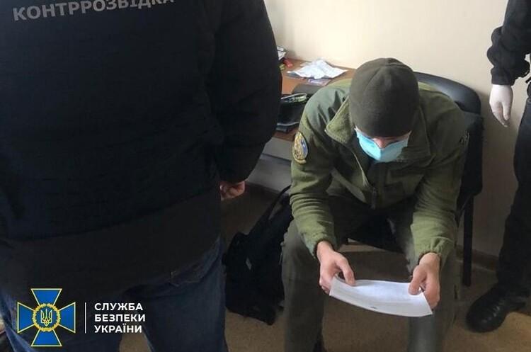 СБУ затримала командира одного з підрозділів Нацгвардії під час передачі спецслужбам РФ секретних даних