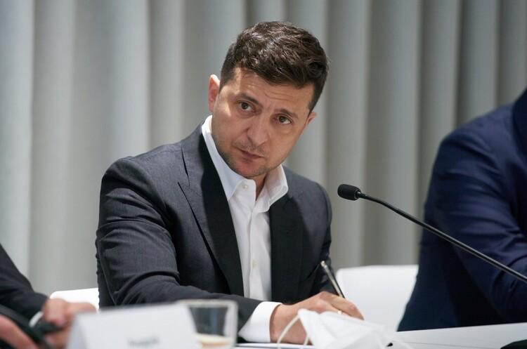 Зеленський зареєстрував у Раді три законопроєкти для підтримки бізнесу