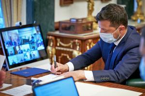 Зеленський підписав закон про створення та функціонування Державного аграрного реєстру