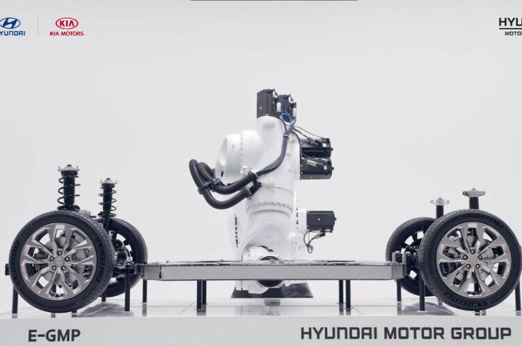 Hyundai представила власну платформу для виробництва електромобілів