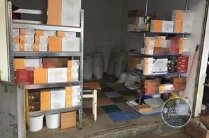 На Донеччині правоохоронці вилучили контрафактний тютюн та обладнання для виготовлення цигарок
