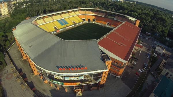 СЕТАМ продає стадіон «Ювілейний» у Сумах