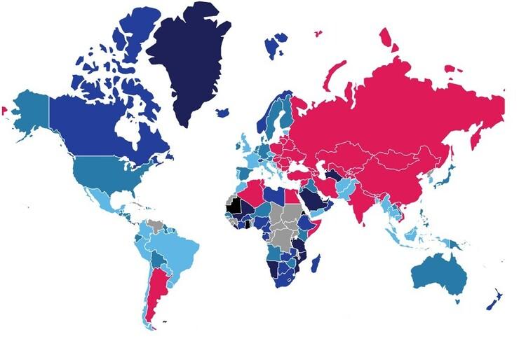 Україна вийшла на перше місце у світі по дешевизні широкосмугового інтернету