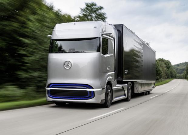 Daimler, Iveco, Volvo і Shell оголосили про спільний проект з переведення вантажівок на водень