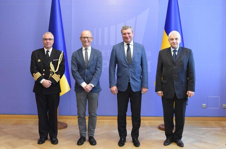 Данія зацікавлена у співпраці з Україною у сфері кораблебудування