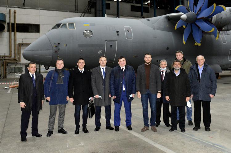 Укроборонпром підпише контракт на три літаки Ан-178 до кінця року