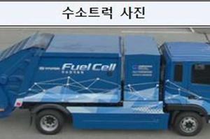 У Південній Кореї тестують перший у світі сміттєвіз на водневих елементах