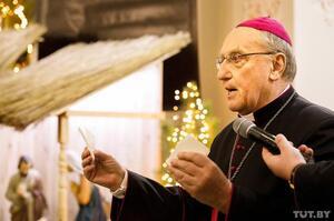 Папа Римський прийняв відставку лідера католиків Білорусі