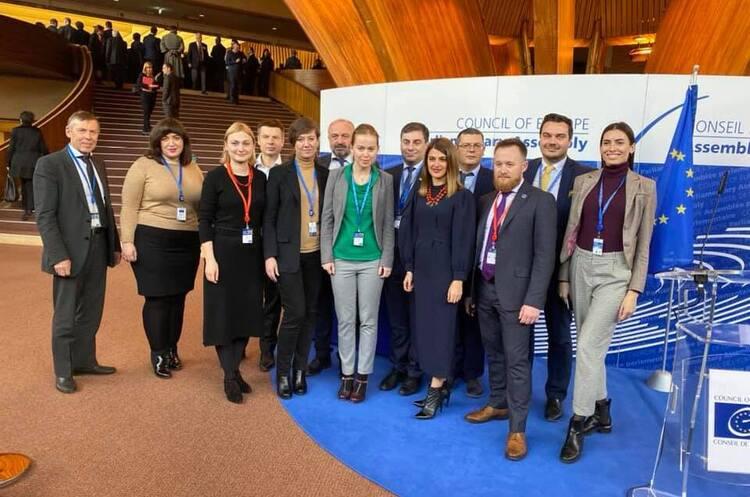 Українську делегацію в ПАРЄ замість Ясько очолить Марія Мезенцева