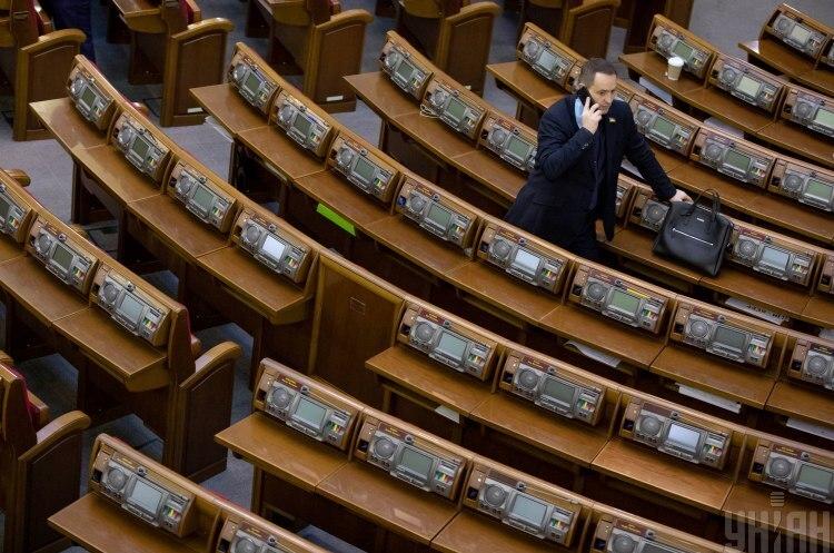 Минулого року лише 16% законів було прийнято голосами монобільшості