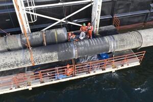 Одна з гілок «Північного потоку – 2» буде завершена в червні – Bloomberg
